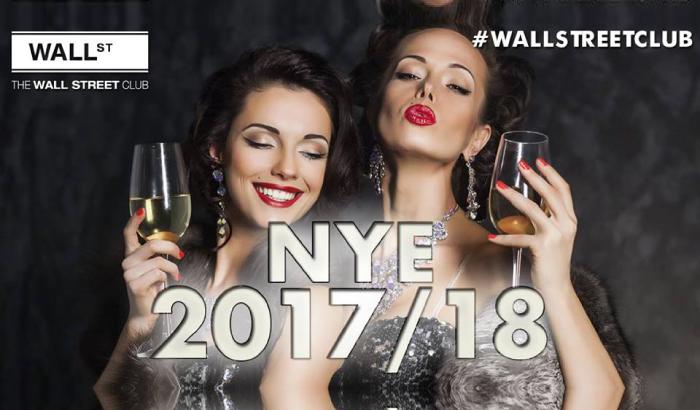 New Year's Eve - Wall Street Club | Sylwester 2017/2018 we Wrocławiu