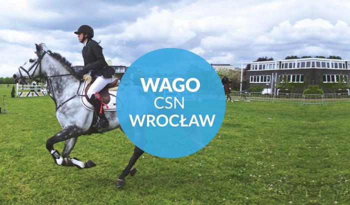 WAGO CSN Wrocław - 2017 - konkurs w skokach przez przeszkody