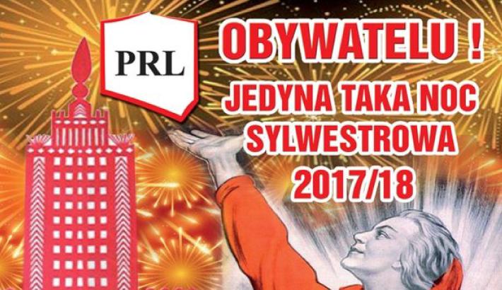 Sylwester w Klubie PRL | Sylwester 2017/2018 we Wrocławiu