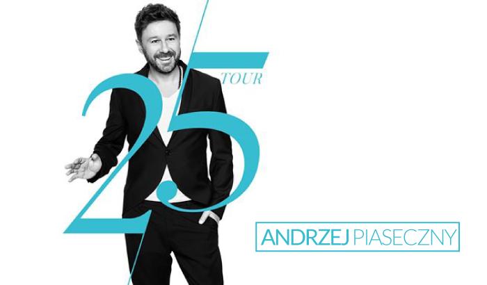 Andrzej Piaseczny - 25 Tour | koncert