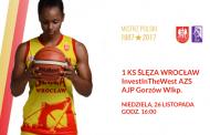 1KS Ślęza Wrocław - InvestInTheWest AZS AJP Gorzów Wlkp. | mecz koszykówki