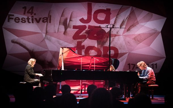 Jazztopad | Theodosii Spassov solo oraz Kris Davis & Benoît Delbecq Duo - fotorelacja