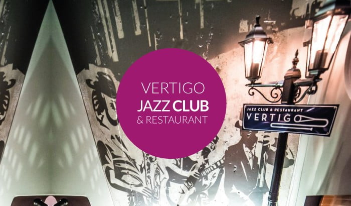 Vertigo Jazz Club & Restaurant | program na maj