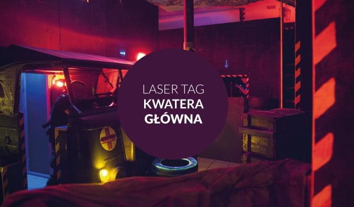 Laser Tag Kwatera Główna - LaseroweCentrum Rozrywki