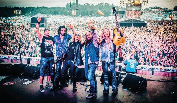 The Dead Daisies - hardrockowa supergrupa na Gitarowym Rekordzie Guinnessa we Wrocławiu!