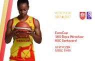 EuroCup: 1KS Ślęza Wrocław - KSC Szekszard | mecz koszykówki