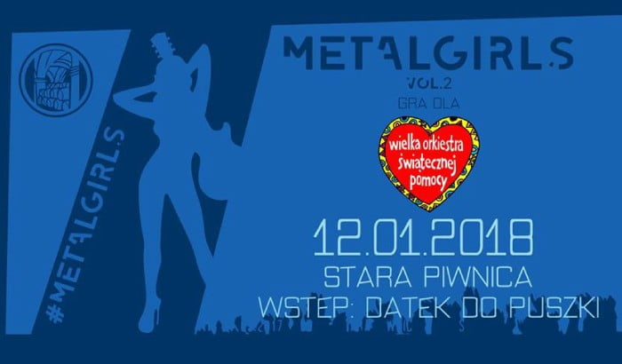 MetalGirls vol. 2  | koncert WOŚP