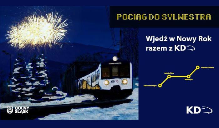 Pociąg do Sylwestra - Pociąg do Nowego Roku | Sylwester 2017/2018 we Wrocławiu