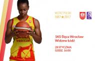 1KS Ślęza Wrocław - Widzew Łódź | mecz koszykówki