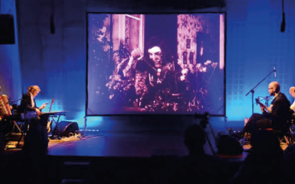 Kult ciała | pokaz filmu z muzyką na żywo - zespół Czerwie