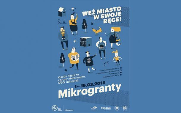Wrocławski program wsparcia oddolnych inicjatyw, czyli nowa formuła Mikrograntów w 2018 roku