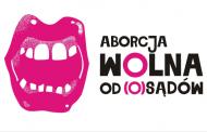 Manifa 2018 Wrocław - Aborcja wolna od (o)sądów!