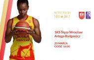 1KS Ślęza Wrocław - Artego Bydgoszcz | mecz koszykówki