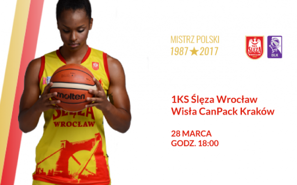 1KS Ślęza Wrocław - Wisła CanPack Kraków | mecz koszykówki