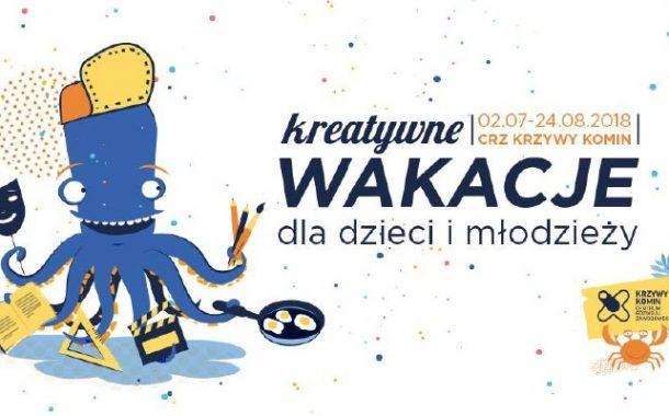 Ahoj Przygodo! czyli kreatywne wakacje w Krzywym Kominie