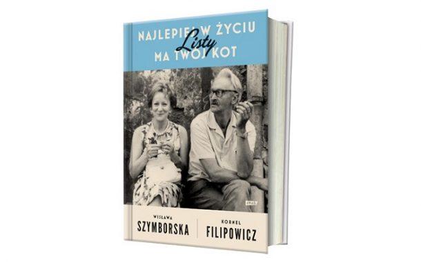 """Wisława Szymborska i Kornel Filipowicz """"Najlepiej w życiu ma twój kot. Listy"""""""