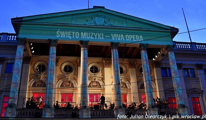 Święto Muzyki na tarasie Opery Wrocławskiej