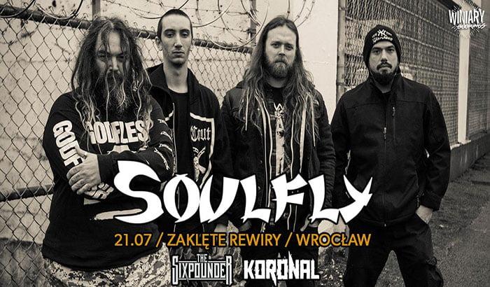 Soulfly | koncert (Wrocław 2018)