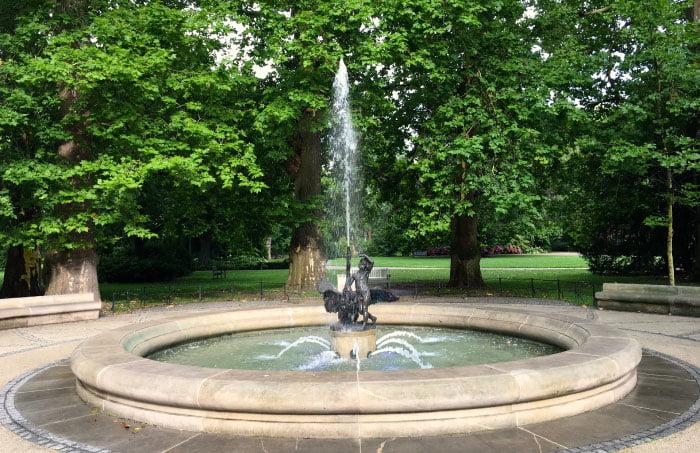 park staromiejski Fontanna