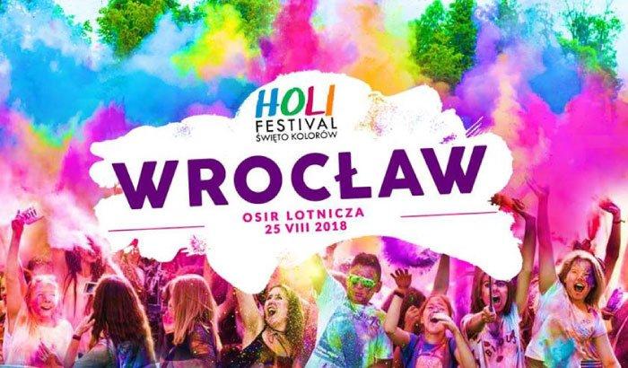 Holi Festival Wrocław 2018