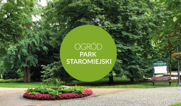 Ogród staromiejski - Park Staromiejski