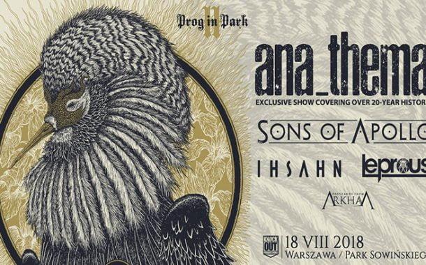 Prog In Park II | Anathema headlinerem warszawskiego festiwalu