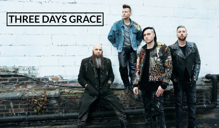 Three Days Grace | koncert (Wrocław 2018)