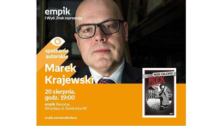 Spotkanie z Markiem Krajewskim
