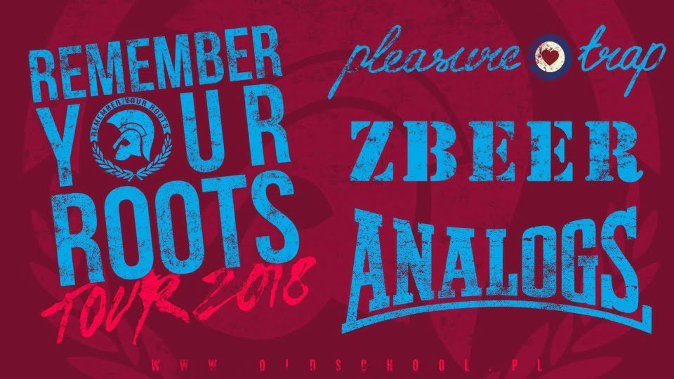 Remember Your Roots 2018: The Analogs, Zbeer, Pleasure Trap   koncert (Wrocław 2018)