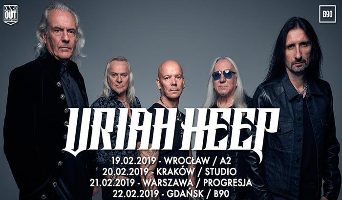Uriah Heep | koncert (Wrocław 2019)