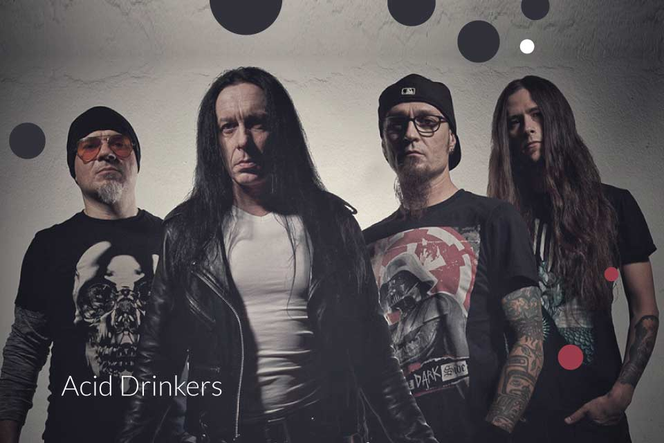 Acid Drinkers | koncert (Wrocław 2020)