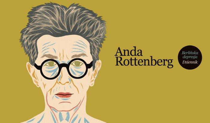 Anda Rottenberg - Berlińska depresja | spotkanie autorskie