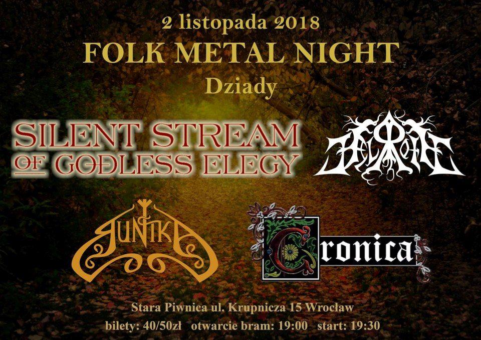 Folk Metal Night - Dziady   koncert