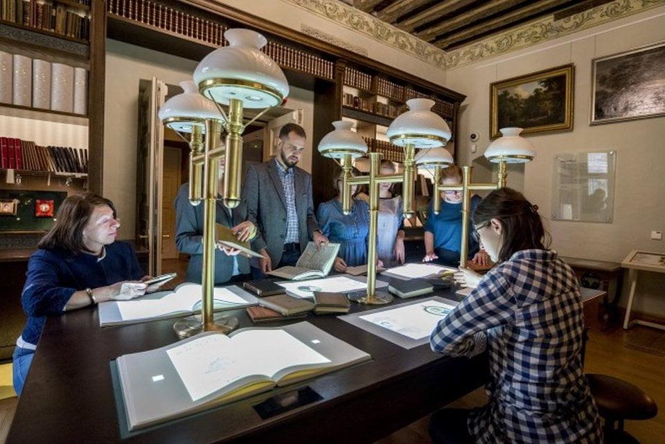 Muzeum Pana Tadeusza - Sala Biblioteka