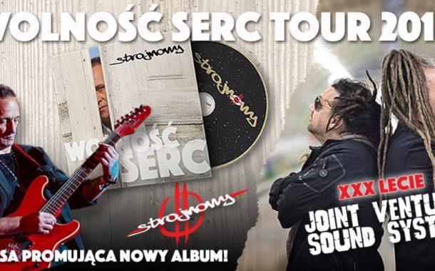 Wolność Serc Tour 2018 - Strojnowy, Joint Venture Sound System | koncert