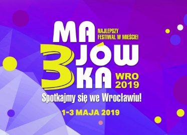Festiwal 3-majówka 2019 we Wrocławiu