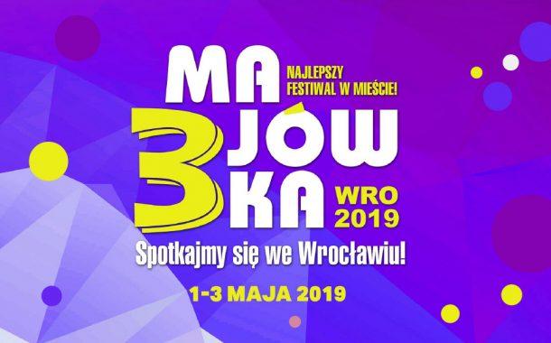 Festiwal 3-majówka 2019 we Wrocławiu | program