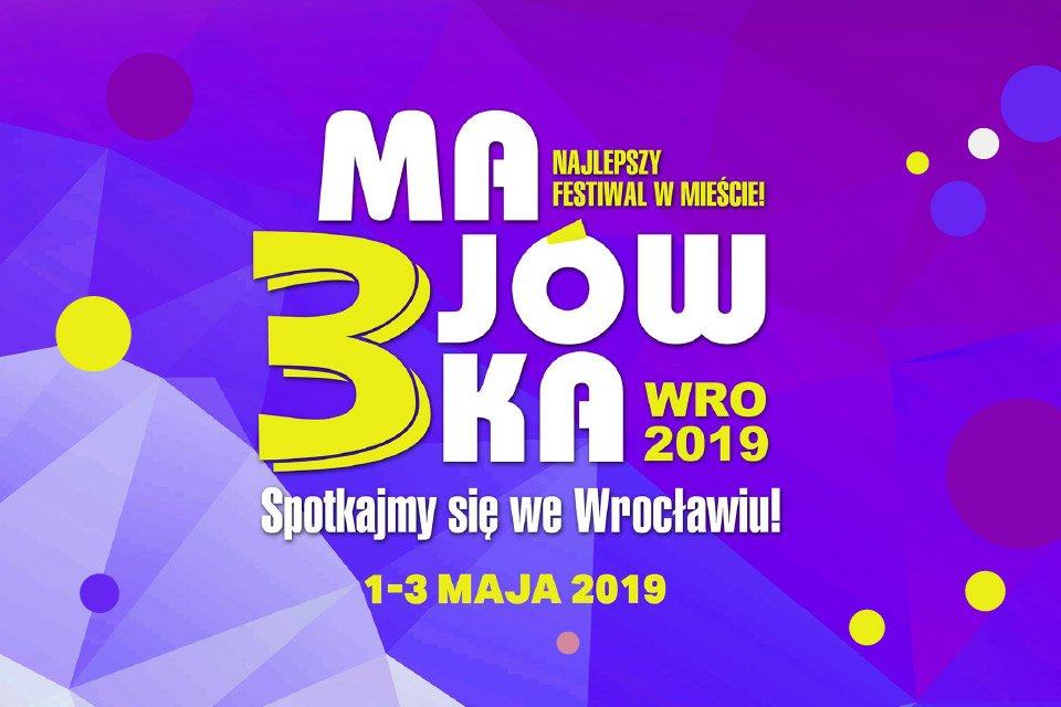 Pole namiotowe na 3-Majówce we Wrocławiu