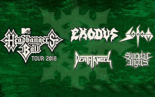 MTV Headbangers Ball Tour 2018 | koncert