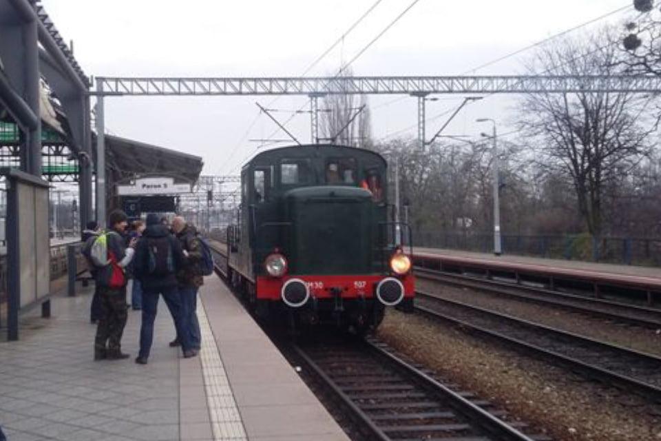 Starym pociągiem wokół Wrocławia