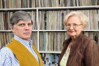 dr Krzysztof Pawłowski i prof. Ewa Łętowska