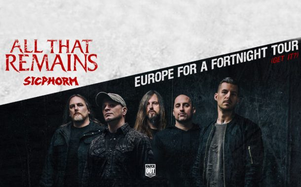 All That Remains | koncert (Wrocław 2018)