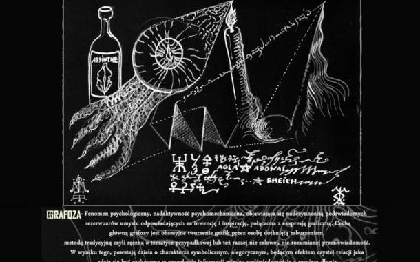 Grafoza III, czyli niekontrolowana reakcja psychologiczna | wystawa