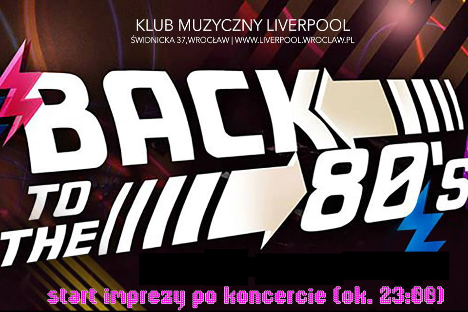 Back To The 80's - Liverpool