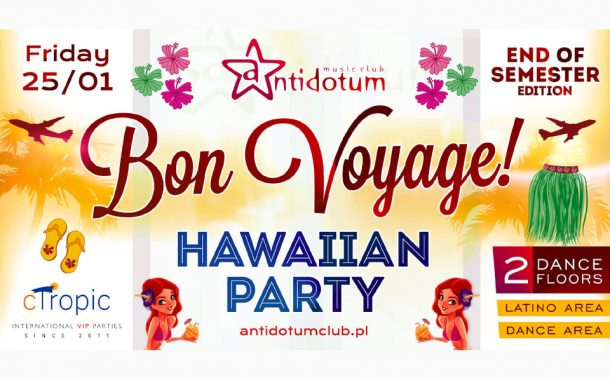 Bon Voyage! Hawaiian Party