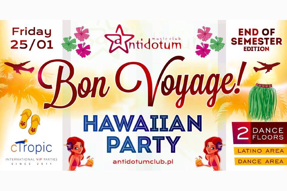Bon Voyage! Hawaiian Party