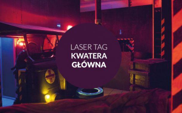 Laser Tag Kwatera Główna – Laserowe Centrum Rozrywki