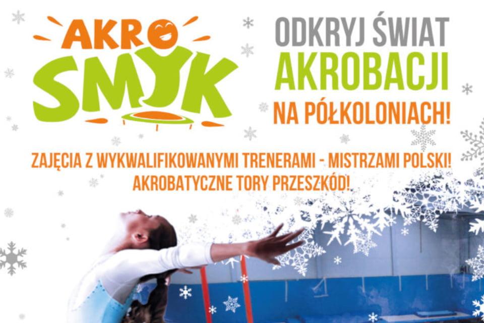Półkolonie akrobatyczne |  Ferie we Wrocławiu