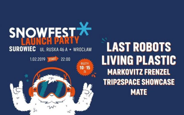 SnowFest Festival Launch Party Wroclaw