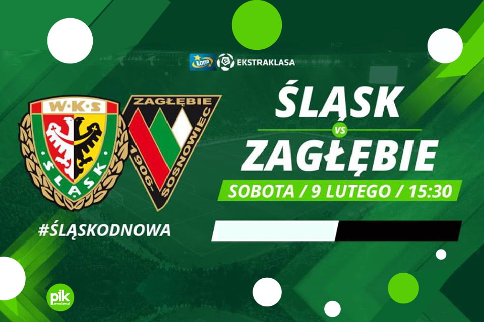 Śląsk Wrocław vs. Zagłębie Sosnowiec | mecz